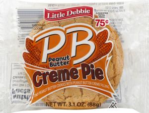 Little Debbie Peanut Butter Creme Pie