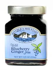 Mother's Mountain Blueberry Ginger Jam