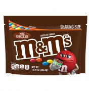 M&M's Milk Chocolate Candies Snack Size