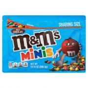 M&M's Milk Chocolate Minis Candies Snack Size
