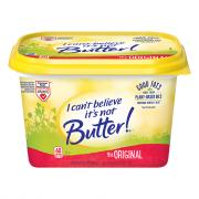 I Can't Believe It's Not Butter Tubs