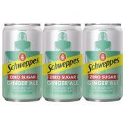 Schweppes Zero Sugar Ginger Ale