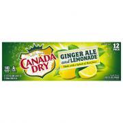 Canada Dry Ginger Ale & Lemonade