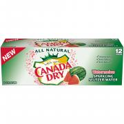 Canada Dry Watermelon Sparkling Seltzer Water