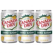 Canada Dry Diet Ginger Ale Mini