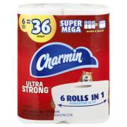 Charmin Ultra Strong Super Mega Rolls
