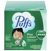 Puffs 2-Ply Vicks Plus Lotion Tissues