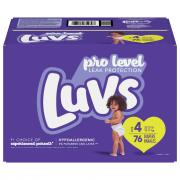 Luvs Size 4 Family Pack
