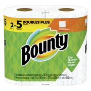 Bounty White Full Sheet Double Plus Roll Paper Towel