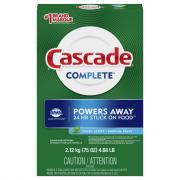 Cascade Complete Powder Dishwasher Detergent