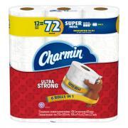 Charmin Ultra Strong Bathroom Tissue Super Mega Roll