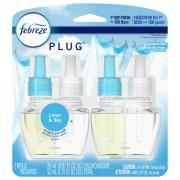 Febreze NOTICEables Linen & Sky Scented Oil Refills