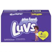 Luvs Ultra Leakguards Diapers Size 4