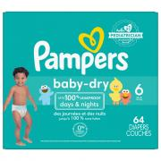 Pampers Size 6 Baby Dry Super Pack