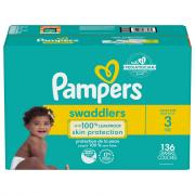 Pampers Size 3 Swaddlers Enormous Value Diapers