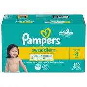 Pampers Size 4 Swaddlers Enormous Value Diapers