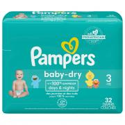 Pampers Size 3 Baby Dry Jumbo Pack