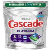 Cascade Platinum Action Pacs Fresh Scent