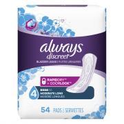 Always Discreet Pads Moderate Long Length