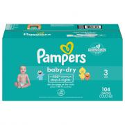 Pampers Size 3 Baby Dry Super Pack