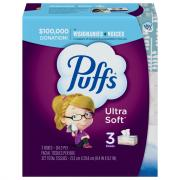Puffs Ultra Soft and Strong Facial Tissues