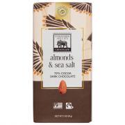 Endangered Species Dark Chocolate w/Sea Salt & Almonds Bar