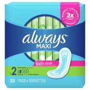 Always Long Super Maxi Pads
