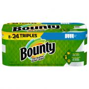 Bounty Select a Size White Triple Roll Paper Towels