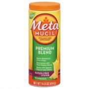 Metamucil Psyllium Fiber Supplement Premium Blend Orange