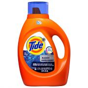 Tide 2X High Efficiency with Bleach 48 Load