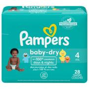 Pampers Size 4 Baby Dry Jumbo Pack