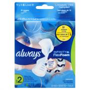 Always Infinity Flexi-Wings Pads