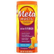 Metamucil Smooth Texture Sugar Free Orange