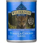 Blue Buffalo Wilderness Puppy Turkey & Chicken Grill