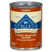 Blue Buffalo Homestyle Recipe Turkey Meatloaf Dinner