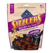 Blue Buffalo Sizzlers Bacon-Style Dog Treat Original