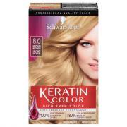 Schwarzkopf Keratin Color Silky Blonde 8.0 Hair Color