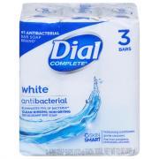 Dial White Bath Size Bar Soap