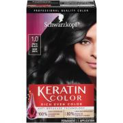Schwarzkopf Keratin Color Black Onyx 1.0 Hair Color