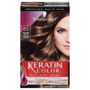 Schwarzkopf Keratin Color Delicate Praline 6.0 Hair Color