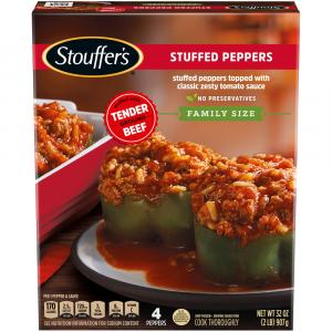 Stouffer's Family Style Recipes Stuffed Green Peppers