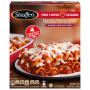 Stouffer's Family Size Meat Lovers Lasagna