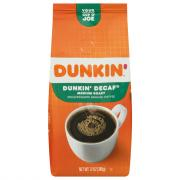 Dunkin' Donuts Decaffeinated Ground Coffee