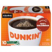 Dunkin' Donuts Colombian Coffee K-cups