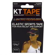 KT Elastic Sports Tape Black