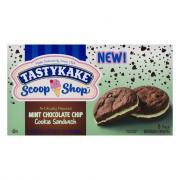 TastyKake Scoop Shop Mint Chocolate Chip Cookie Sandwich