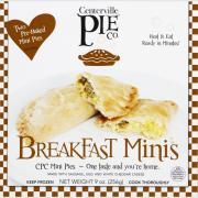 Centerville Pie Co. Breakfast Mini Pies