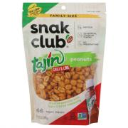 Snak Club Family Size Tajin Chili & Lime Peanuts