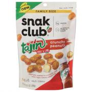 Snak Club Family Size Tajin Chili & Lime Crunchy Peanuts