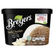 Breyers Take 2 Vanilla Chocolate Ice Cream